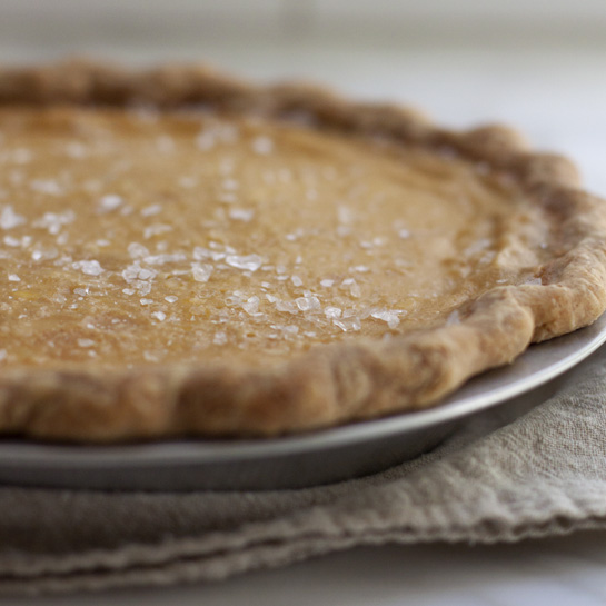 Maple Buttermilk Pie | Bakers Guild